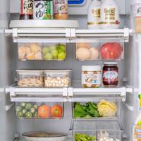 摩登主妇冰箱收纳盒抽屉式冷冻保鲜盒悬挂式厨房整理盒分类鸡蛋盒