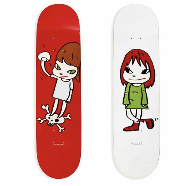 HOWstore Yoshitomo Nara奈良美智MoMA限定潮流藝術滑板板面