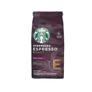 星巴克(Starbucks)深度烘焙 官方意式浓缩烘焙咖啡豆200g