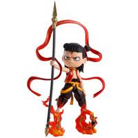 万代BANDAI 哪吒之魔童降世 SHF 可动人偶手办摆件国漫神话红孩儿 哪吒