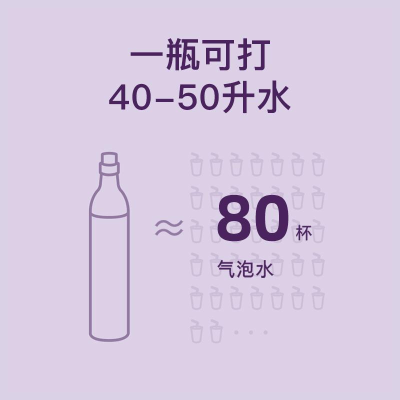 西屋家用气泡水机奶茶可乐碳酸饮料自制打气机家用苏打水机