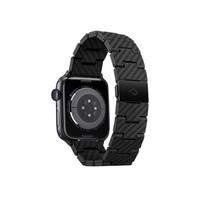 PITAKA 苹果Apple Watch Series 6/SE/5/4智能手表 纯碳纤维表带 经典复古款42/44mm