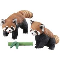 多美(TAKARA TOMY)多美小熊猫浣熊安利亚动物模型儿童仿真认知男玩具猫熊119494