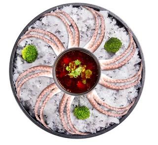 鲜美来 冷冻火锅鱿鱼须 200g*7 + 鲜美来 东海带鱼段400g*3