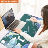 海纳斯 HANASS发热暖桌垫办公室桌面电脑鼠标写字暖手电热板电暖加热国潮暖桌宝 S-80