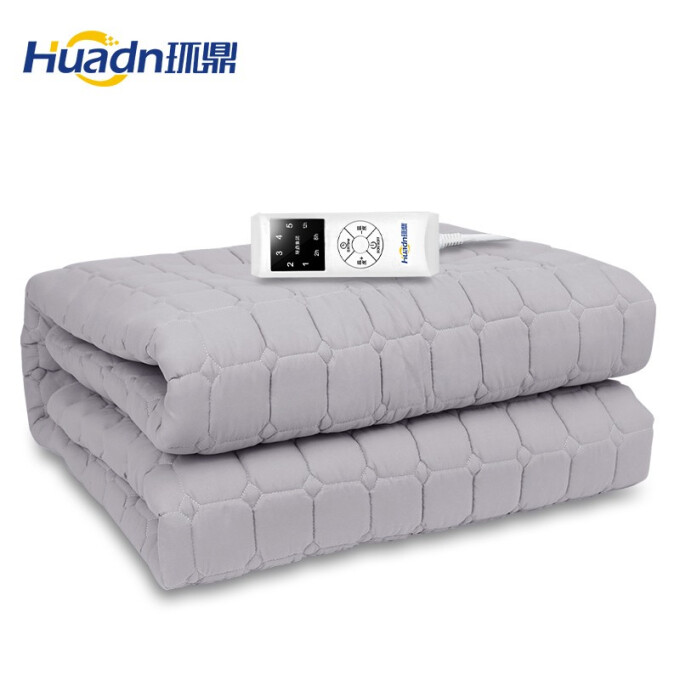 环鼎水暖电热毯双人水暖毯双控电褥子恒温水暖炕三人孕婴可用TT200×180-8X-135W