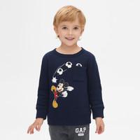 Gap男幼童运动卫衣春季499852 E 迪士尼联名儿童