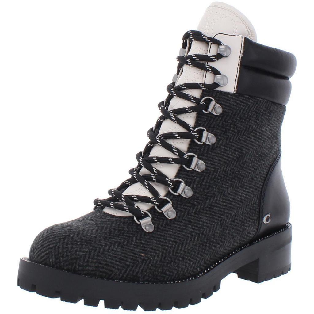 COACH 蔻驰 Lorren Wool Fashion 女士马丁靴