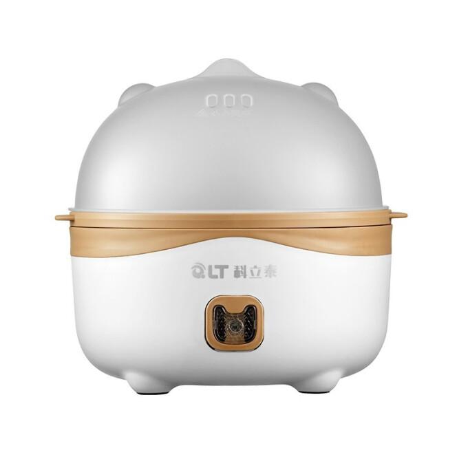 科立泰(QLT)煮蛋器不銹鋼蒸蛋器蒸蛋羹7枚蛋QLT-Z02 單層