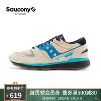 Saucony索康尼 GOLDEN ERA系列AZURA 男子经典休闲复古鞋S70509 卡基-2 41