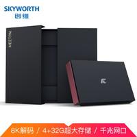 SKYWORTH 创维 小湃盒子P3Pro 8K高清电视网络机顶盒 4+32G存储 千兆网口 双频3天线wifi安卓9.0