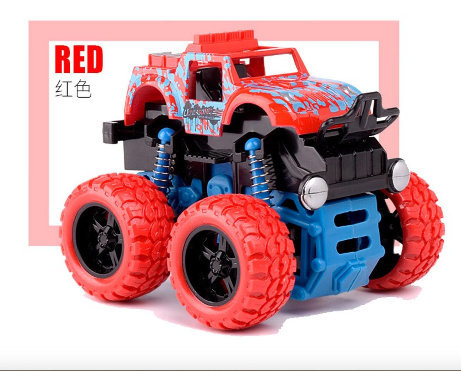 YUSHIXING 俞氏興 回力慣性越野車 紅色