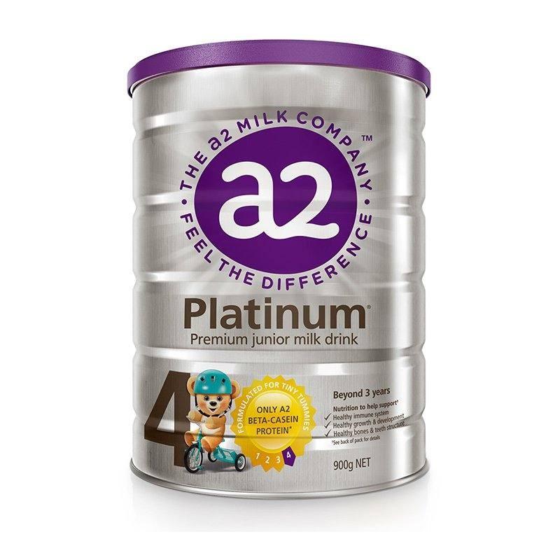 a2 艾爾 白金版 兒童配方奶粉 4段 900g 3罐裝
