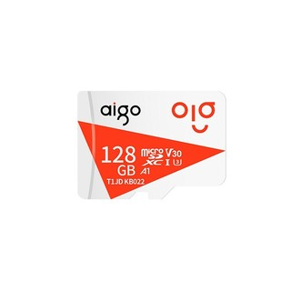 aigo 爱国者 T1JD MicroSD 存储卡 128GB