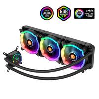 Tt(Thermaltake)冰龙360 Sync RGB 一体式CPU水冷散热器 (RGB风扇/主板同步/全铜水冷头/多平台/带硅脂)