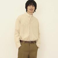 UNIQLO  437155 立领条纹衬衫