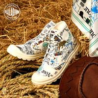 PALLADIUM帕拉丁联名款CNY牛年限定高帮帆布情侣潮鞋斗牛77286