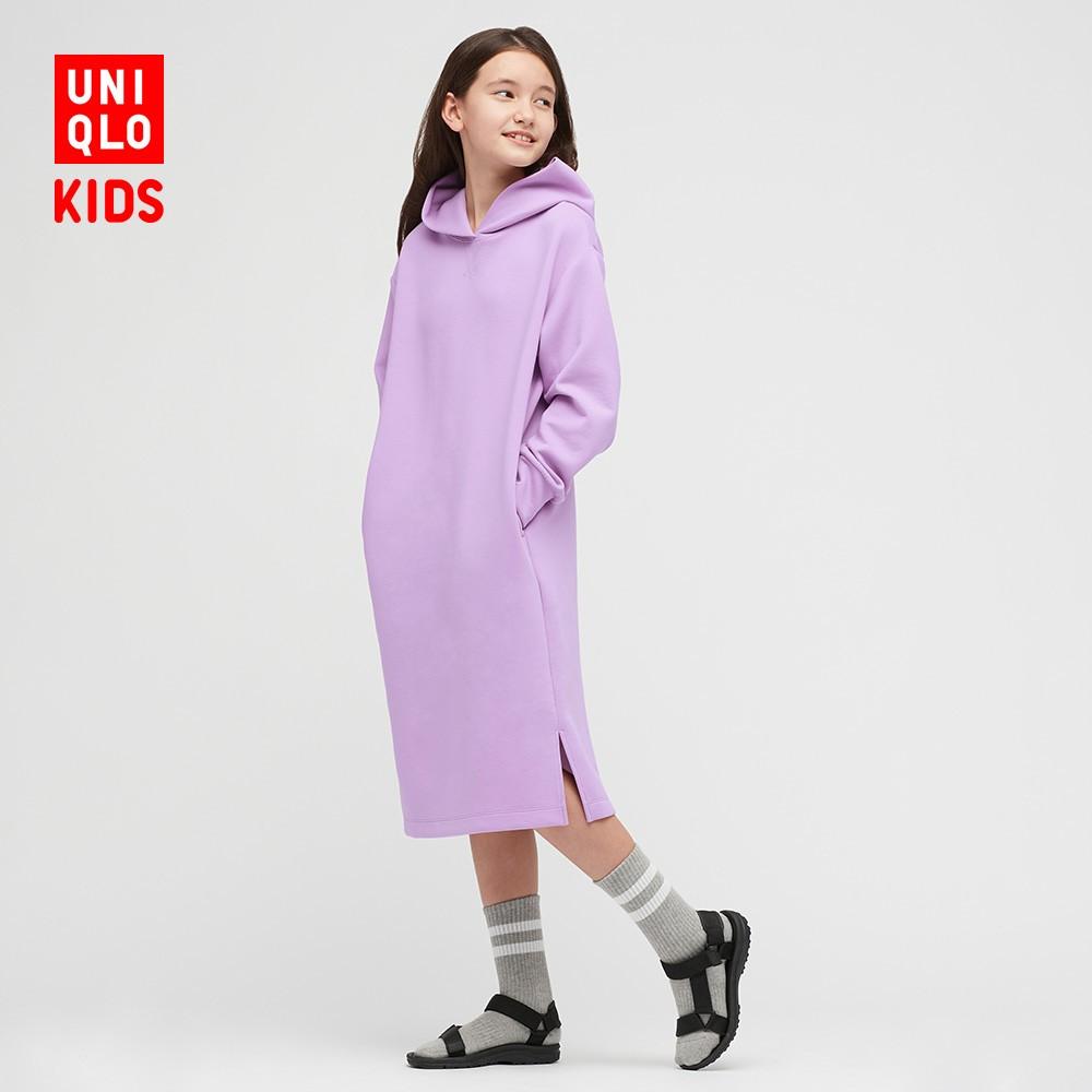 UNIQLO 優衣庫 女童高彈力快干運動連衣裙
