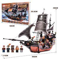 移动端 : GUDI 古迪 积木拼装玩具船 黑珍珠号
