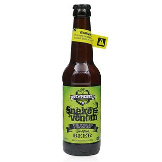 布瑞美斯特67.5度蛇毒烈性高度精酿啤酒苏格兰snake venom毒蛇之液 单瓶装67.5度蛇毒之液