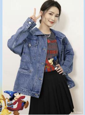 SEIFINI 诗凡黎 魔法米奇合作款 女士T恤 7C1300121-1