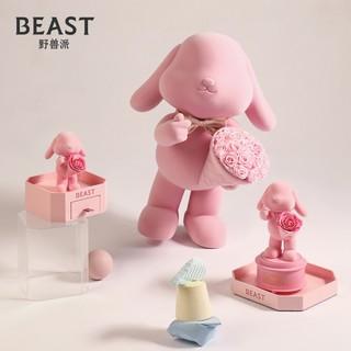 THE BEAST/野兽派玫瑰永生花告白兔礼盒新婚结婚生日礼物送女友