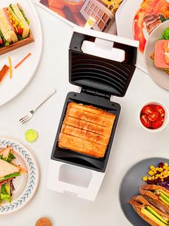 Pinlo三明治机家用网红轻食早餐机三文治压烤吐司面包电饼铛宿舍