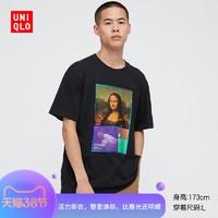 优衣库 男装/女装 (UT) 卢浮宫博物馆印花T恤(短袖) 434378UNIQLO