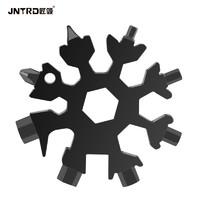 匠领JNTDR 多功能雪花扳手高碳钢万能内六角扳手多种形状便携式工具