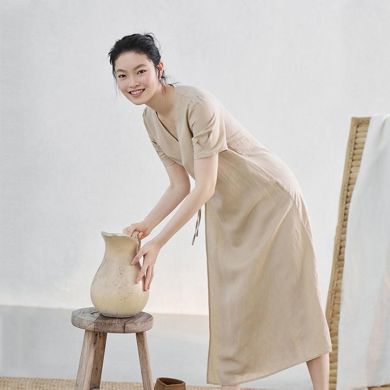 INMAN 茵曼 TM3031a 女式连衣裙