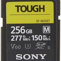 海淘新低,SONY 索尼 TOUGH-M 256GB,V60读277MB/S写150MB/S