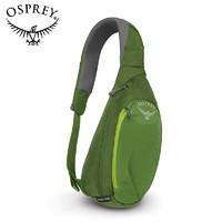 OSPREY 日闪6L腰包 小背包男士胸包休闲斜挎包DAYLITE SLING 绿色19款