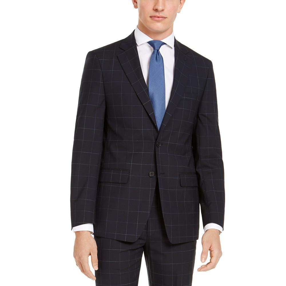 Calvin Klein 卡尔文·克莱 男士修身西装外套