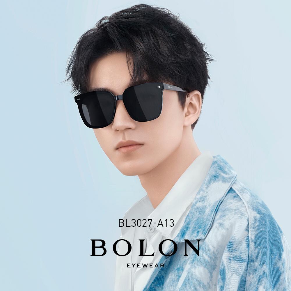 BOLON暴龙 太阳镜王俊凯同款偏光墨镜韩版黑超眼镜BL3027&BL3037