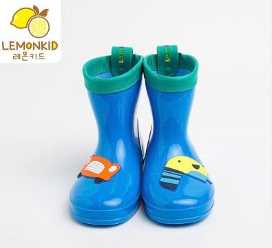 lemonkid 柠檬宝宝 儿童卡通雨鞋