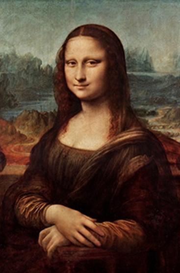 買買藝術 達芬奇《蒙娜麗莎》40*30cm 裝飾畫 美術紙