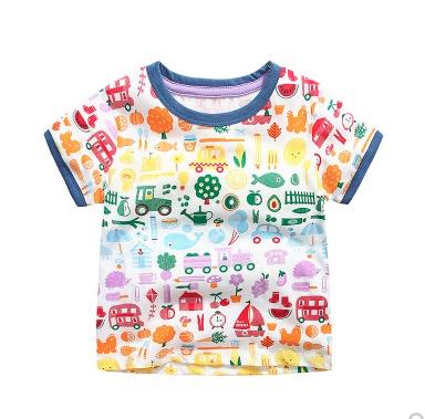 I.K 印象童年 男童短袖印花T恤