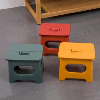 折叠凳凳子可叠放塑料家用换鞋儿童马扎省空间结实便携钓鱼小板凳
