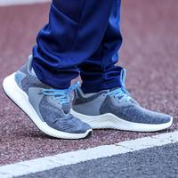 阿迪达斯跑步鞋2021春季男鞋新品小椰子透气防滑运动鞋G28822