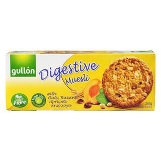 西班牙进口 谷优(Gullon) 葡萄干杏子燕麦 饼干  进口零食 早餐 365g