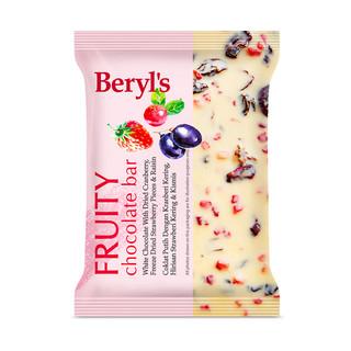 Beryl's 倍乐思 88VIP:马来西亚 倍乐思蔓越莓干 夹心巧克力100g