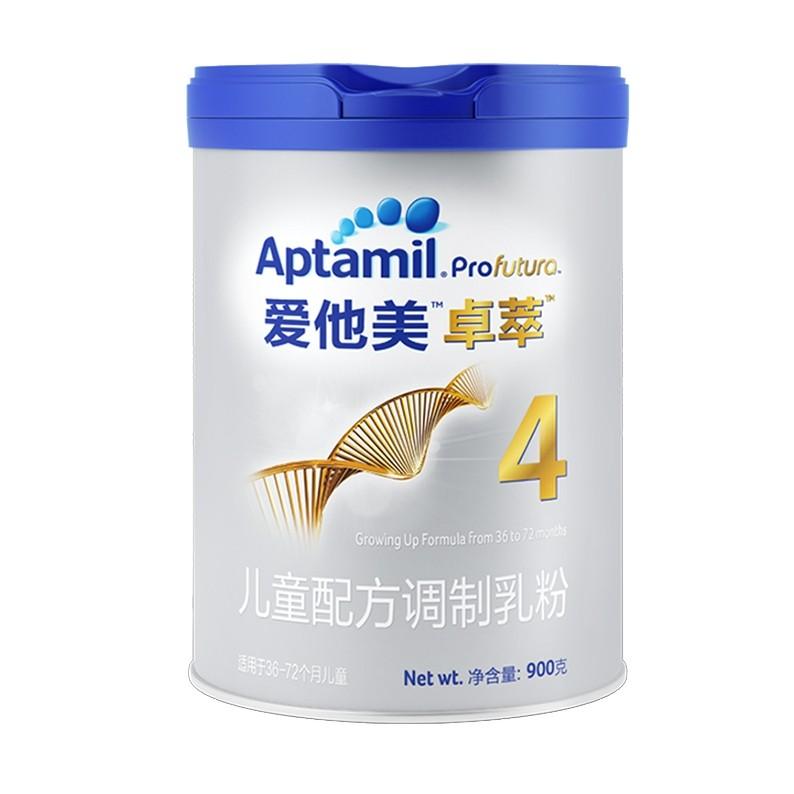 Aptamil 爱他美 卓萃 婴幼儿奶粉 4段 900g