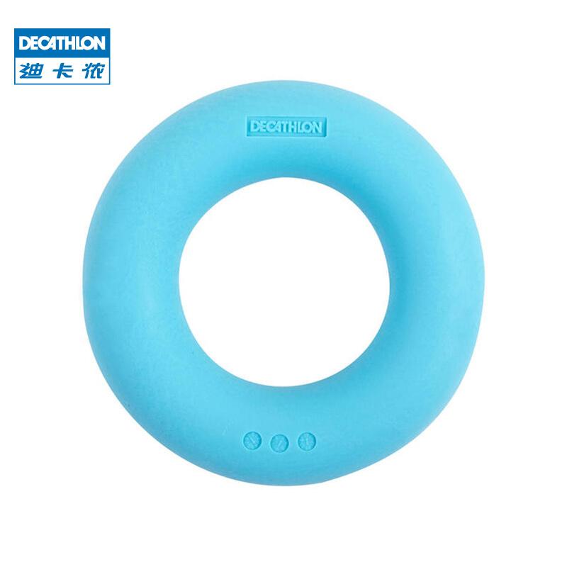 迪卡侬 握力器男练臂肌训练五指力量康复握力圈放松减压器材 CROB 蓝色(约30磅)