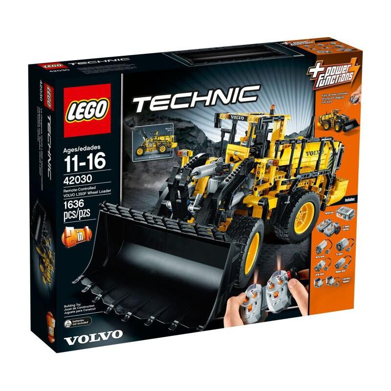 乐高LEGO 科技机械组 仿真模型 高难度拼插积木 男孩女孩礼物 42030 沃尔沃轮式装载机