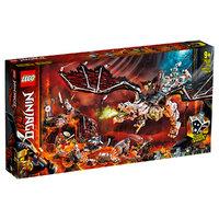 LEGO LEGO乐高幻影忍者系列骷髅巫师的飞龙71721 男孩女孩9岁+生日礼物 玩具积木