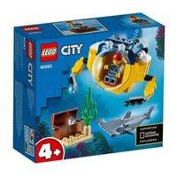 LEGO LEGO乐高城市系60263列迷你海洋潜艇男孩女孩益智拼插积木玩具
