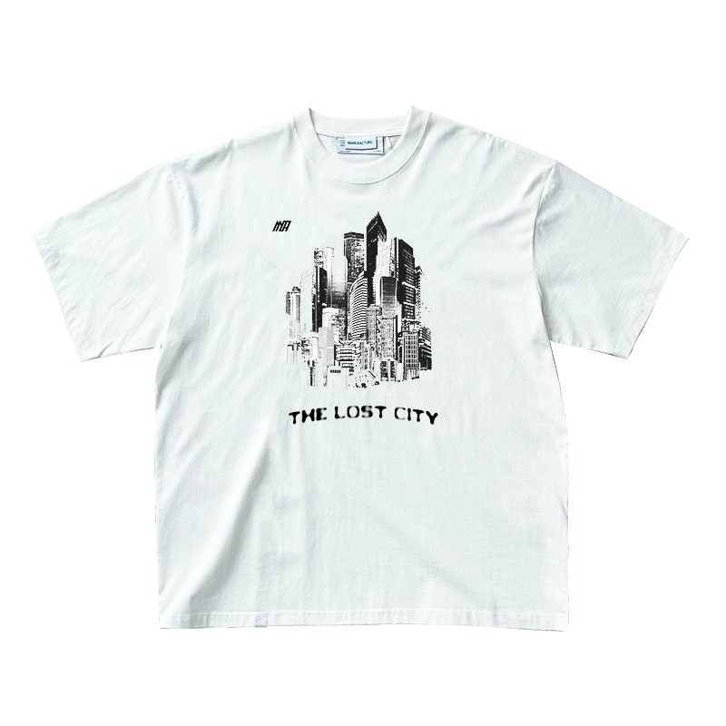 ATTEMPT MANUFACTURE MA21-TEE06 失落之城 男士T恤