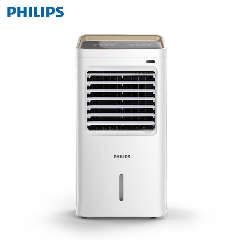 飞利浦(PHILIPS)空调扇冷暖两用冷风机冷风扇制冷办公移动小空调水冷风扇家用负离子过滤加湿 白色