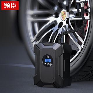 LICHEERS 领臣 车载充气泵无线 汽车轮胎打气泵数显摩托车电动车自行车电动打气筒