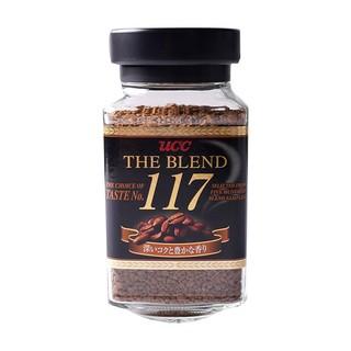 UCC 悠诗诗 日本进口UCC117速溶黑咖啡90g罐装粉悠诗诗114咖啡无蔗糖健身苦味
